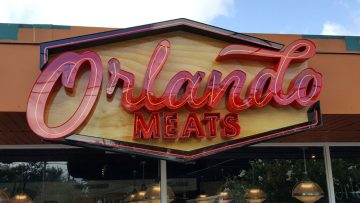 orlando meats business sign